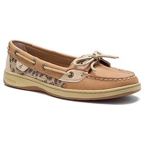 Sperry Top Sider Cheetah Print Sequin Shoes